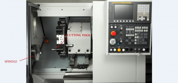 cnc turning center lathe